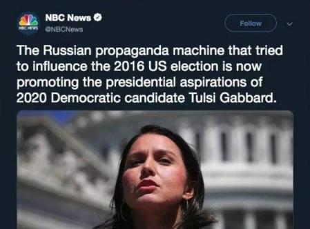 NBC -et al - Tulsi Gabbard 2019