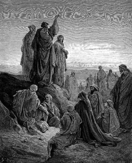 Apostles Preaching - Dore
