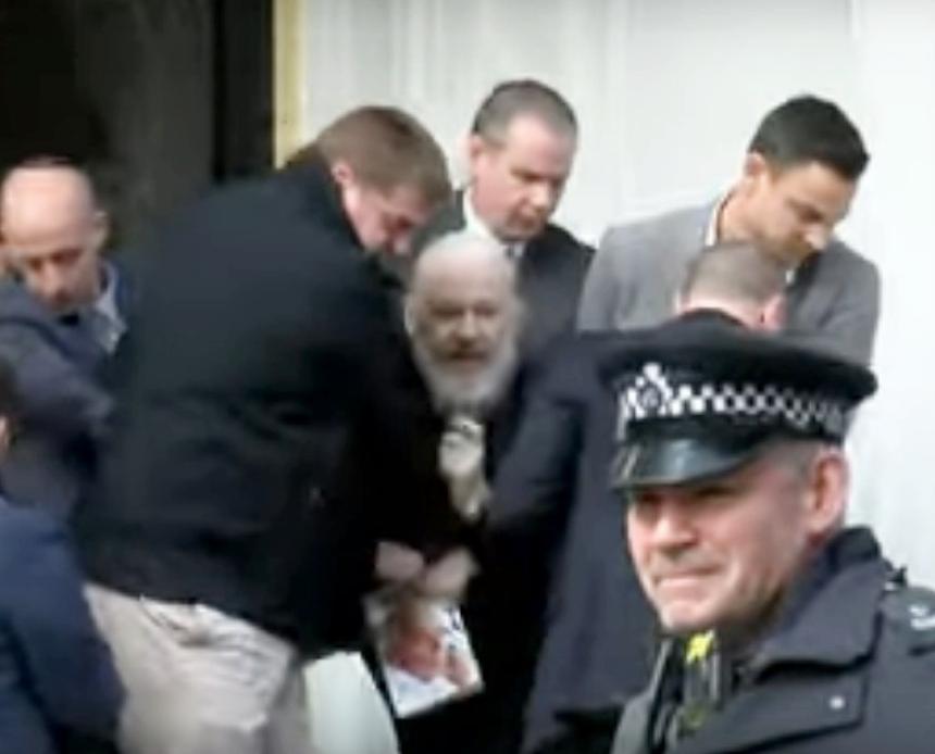 Assange - Tortured